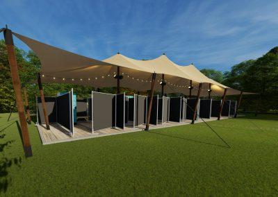 EPIC Codolar Showers Campsite - SHOW ON